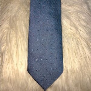 Louis Vuitton Neck Tie Blue Mens Authentic. Used.